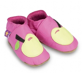 Chaussons APPLE pink/lemon