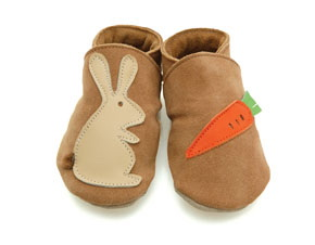 Chaussons Rabbit & Carrot sand